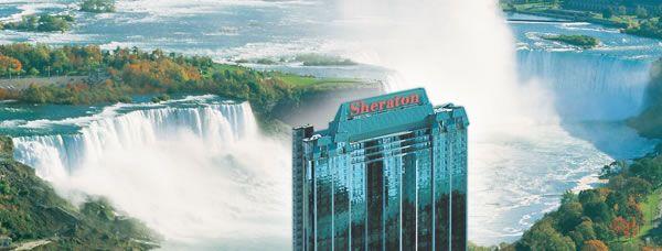 Niagara Falls Hotel Webcam of the falls:  http://www.cbsa-asfc.gc.ca/travel-voyage/kwte-qatf-eng.html