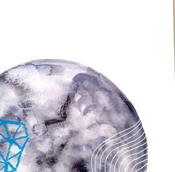 Lunaire 2 par NATACHACARRIER sur Etsy