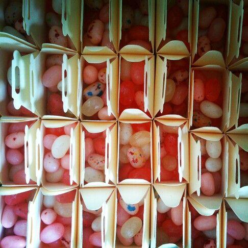 Jellybean favours.