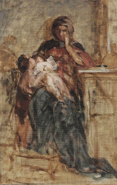 .:. Γύζης Νικόλαος – Gyzis Nikolaos [1842-1901] Μητρότητα