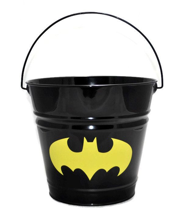 Best 25 personalized easter baskets ideas on pinterest easter batman bucket batman easter basket personalized easter basket custom personalized metal easter bucket negle Images