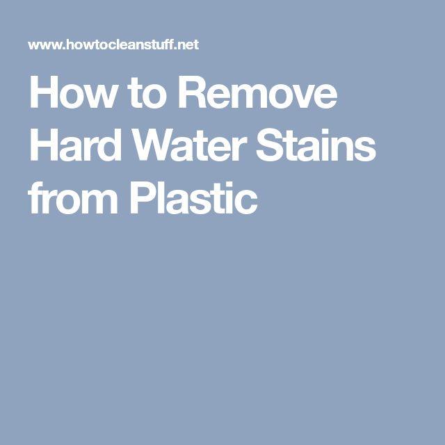 Best 25+ Hard water spots ideas on Pinterest   Hard water cleaner ...