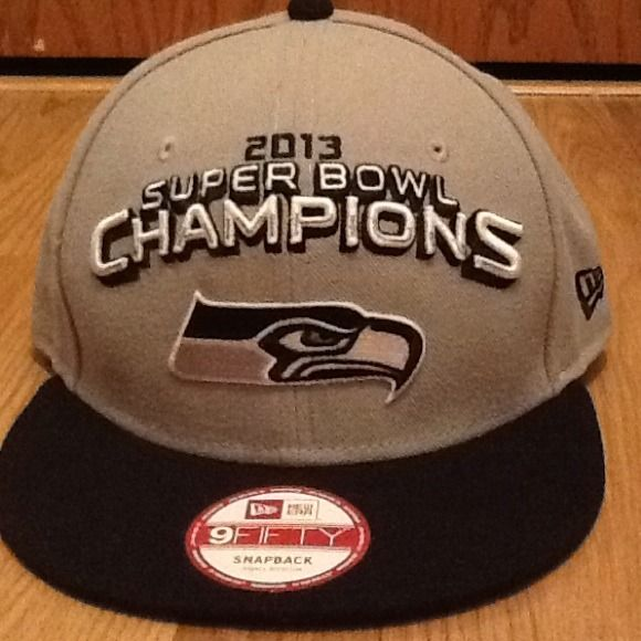 Seattle Seahawks Super Bowl championship hat Brand new never worn hat Other