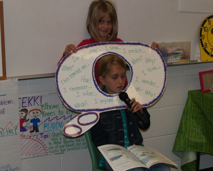 metacognition think bubble - these lessons were awesome for the  kids! From Tanny McGregor's Comprehension Connections
