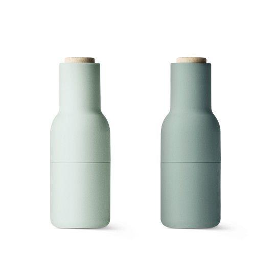 Zestaw 2 młynków zielone Bottle Grinder - Menu - TwojeMeble.pl - meble z kolekcji Menu II