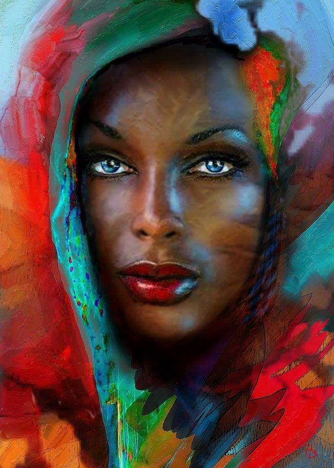 Artist is Angie Braun.
