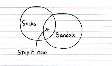 index cards + venn diagrams & graphs = funny