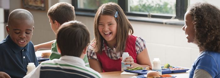 Learn more about the USDA's nutritional standards for school meals.