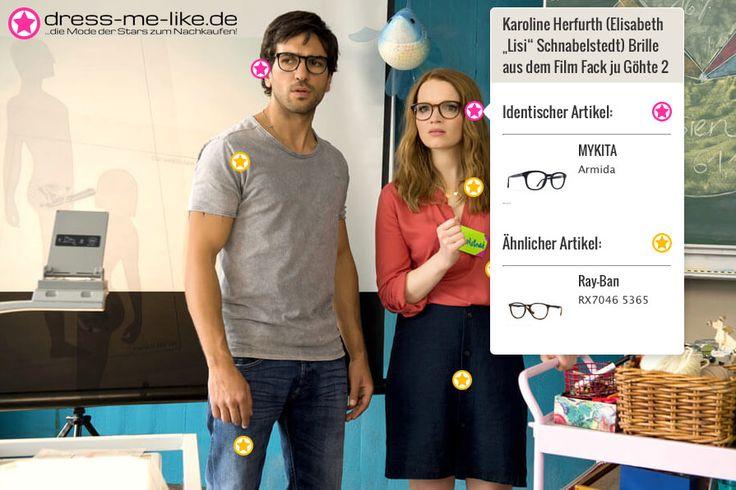 "Karoline Herfurth (Elisabeth ""Lisi"" Schnabelstedt) Brille (MYKITA - Armida) aus dem Film Fack ju Göhte 2"