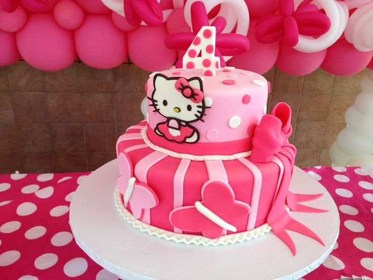 Hello Kitty Birthday Party Ideas | Photo 3 of 20 | Catch My Party