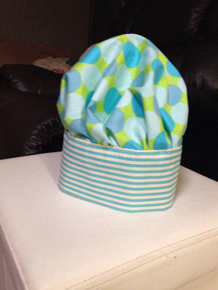 Kids chefs hat...made it