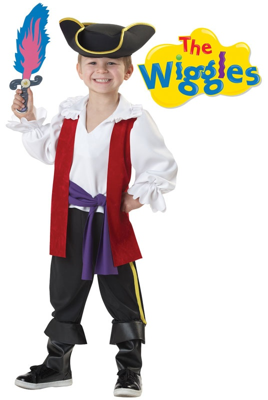 The Wiggles Captain Feathersword Toddler Costume for Halloween - Pure Costumes