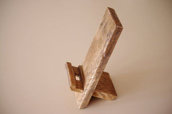 Phone Dock Wooden Phone Stand Rustic Phone By