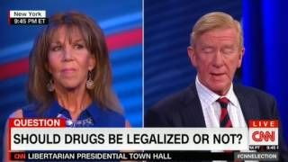 HIGH QUALITY - CNN Libertarian Presidential Town Hall PART 3 - Gary Johnson Bill Weld