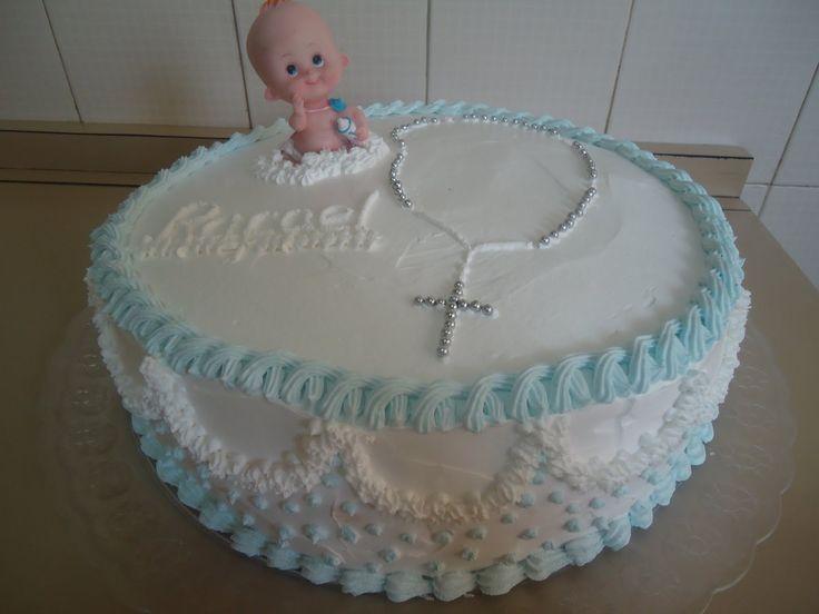 bolo de batizado feminino - Pesquisa Google