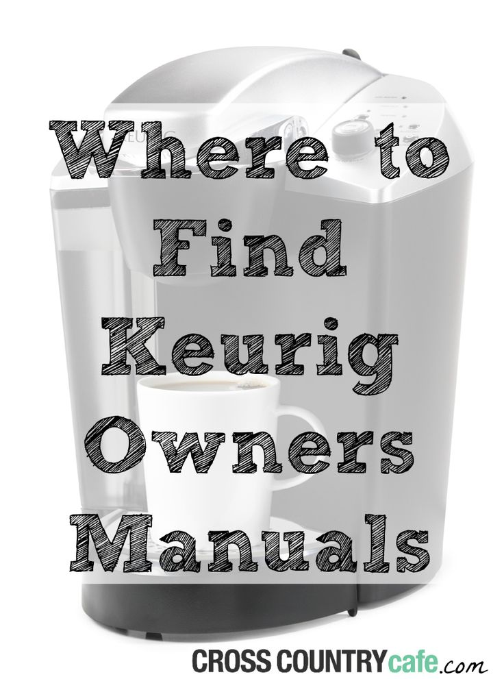 The 25+ best Keurig manual ideas on Pinterest | Cleaning keurig ...