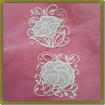 Exclusive Stitches: ES009–Carrickmacross Lace Roses II