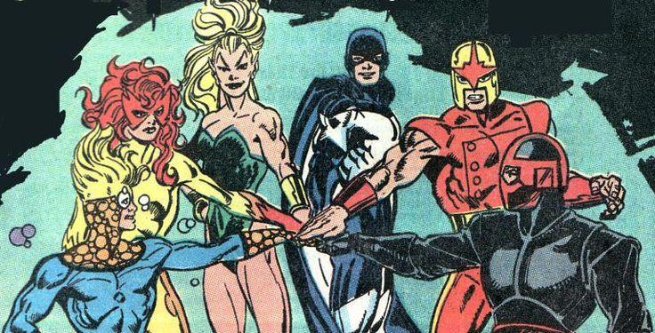 Auguri ai New Warriors! Il gruppo che più di tutti incarna lo spirito dei comics negli anni '90. 25 Anni fa sulle pagine - http://c4comic.it/2014/11/16/marvel-augurate-buon-25-compleanno-ai-new-warriors/