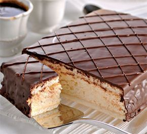 Торт «Птичье молоко»  Birds milk cake!!! NOM NOM NOM