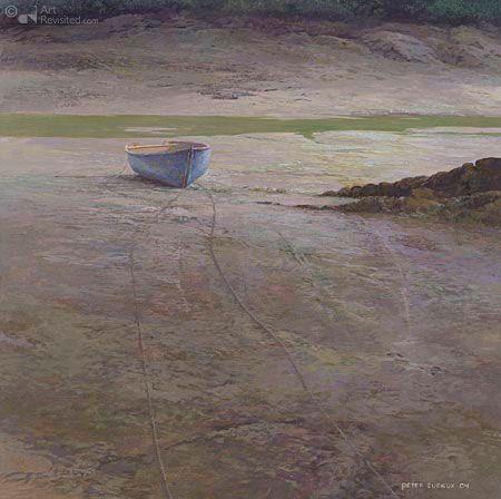 Kunstwerken - Art Revisited Baai van Brigneau Peter Durieux 20.0 x 20.0 cm - Acrylverf op paneel - 2004