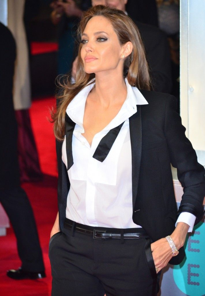 The epitome of old school glamour combined with modern swag :)) Angelina Jolie can play the Doctor anytime btw :)