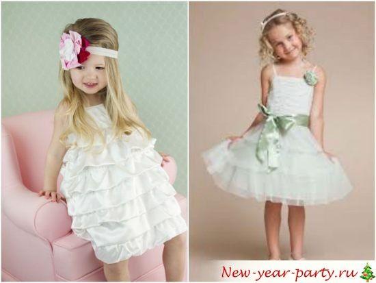 Новогодние детские платья - Стильный и модный магазин одежды
