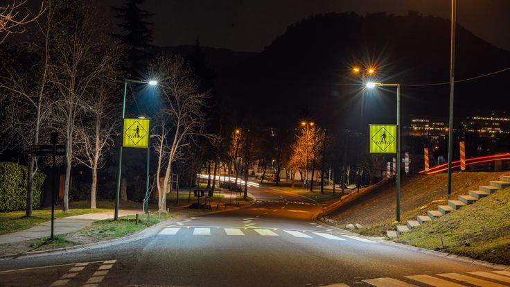Aumenta la seguridad de las calles con #iluminacion #led #Megabright #pagodaled #brisaled