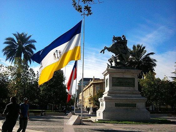 Monumento a Bernardo O'Higgins in Rancagua, Chile