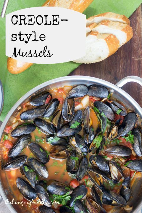 Creole style steamed mussels | The Hungary Buddha