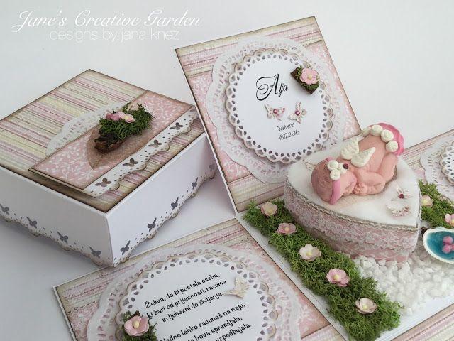 """Janin ustvarjalni vrt                                       : Škatlica presenečenja """"Angel-čica"""""""