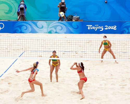 Match Point: USA vs Brazil Olympic Beach Volleyball Kerri Walsh and Misty May-Treanor by BSR-12, via Flickr