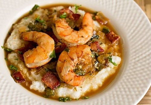 #Spring #Brunch: The Charleston #Shrimp and #Grits
