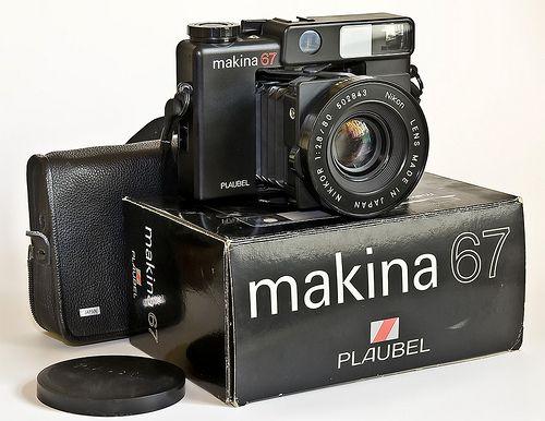 Plaubel Makina 67 by carlzon, via Flickr