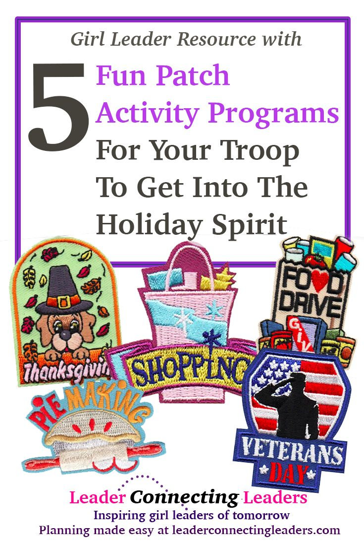 5 Fun Patch Activity Programs For Your Scout Troop…