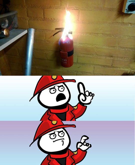Fire Paradox