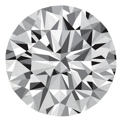 diamond, illustration, geometric    Designspiration — A circle is a great home for a pattern