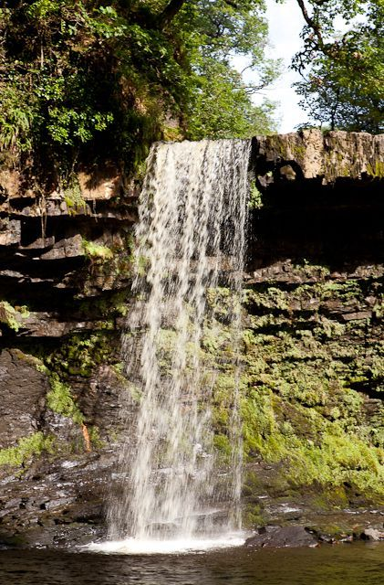 Walking trails in Waterfall Country - Brecon Beacons National Park, Wales