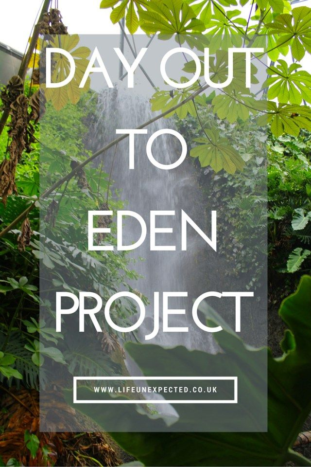 A family day out at the Eden Project in Cornwall. The Eden Project is the World's largest indoor rain forest and a must-see attraction if you are in the South West of England