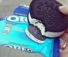 oreo ice cream :'DD