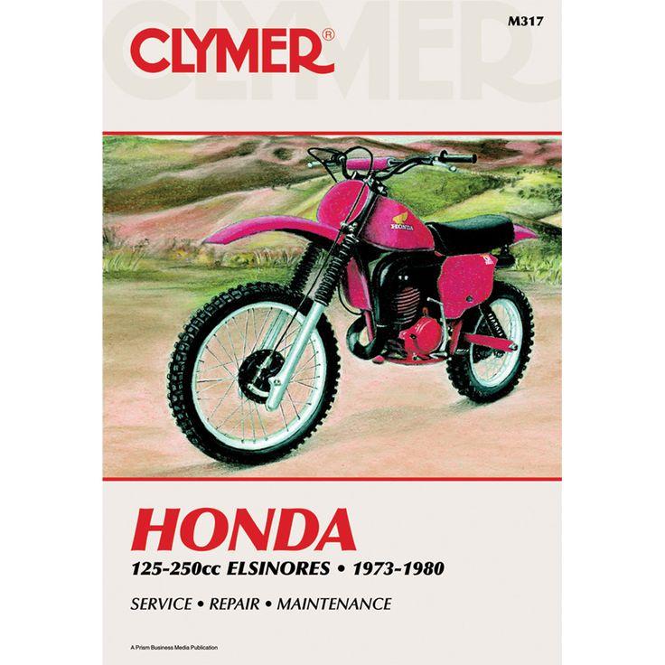 Clymer Honda 125-200cc Elsinore (1973-1980) - https://www.boatpartsforless.com/shop/clymer-honda-125-200cc-elsinore-1973-1980/