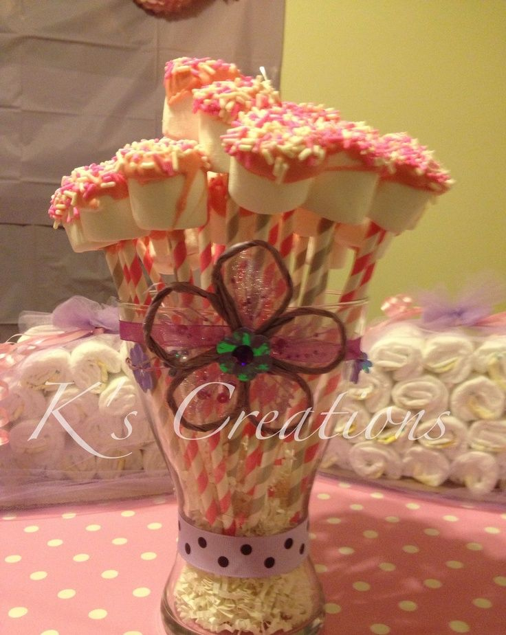 pops for baby shower marshmallow pops ballerina baby shower baby