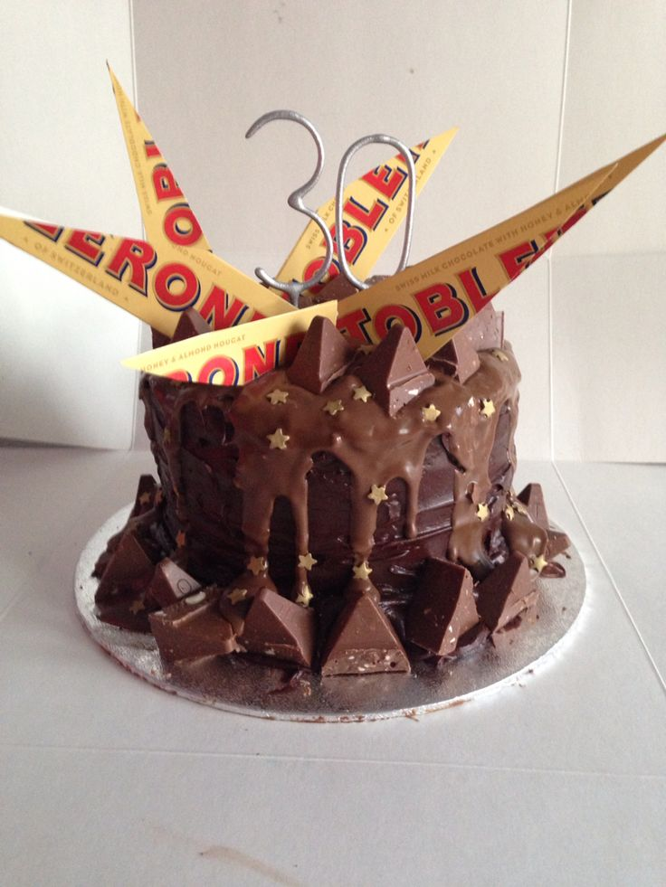 Toblerone Birthday Cake Thermomix