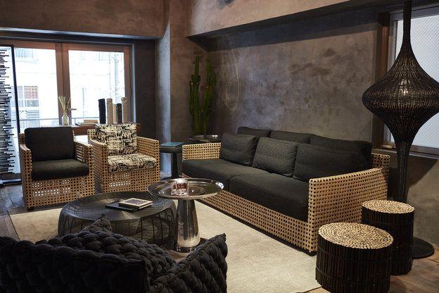 【ELLE DECOR】インテリアのヒント満載! 東京ショールームは南青山・骨董通りに|「ジェルバゾーニ」のおしゃれな家具で、とびきりのインテリアを実現しよう!|エル・オンライン