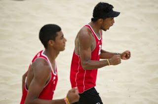 Criollos logran medalla de plata en Circuito Suramericano de Voleibol de Playa