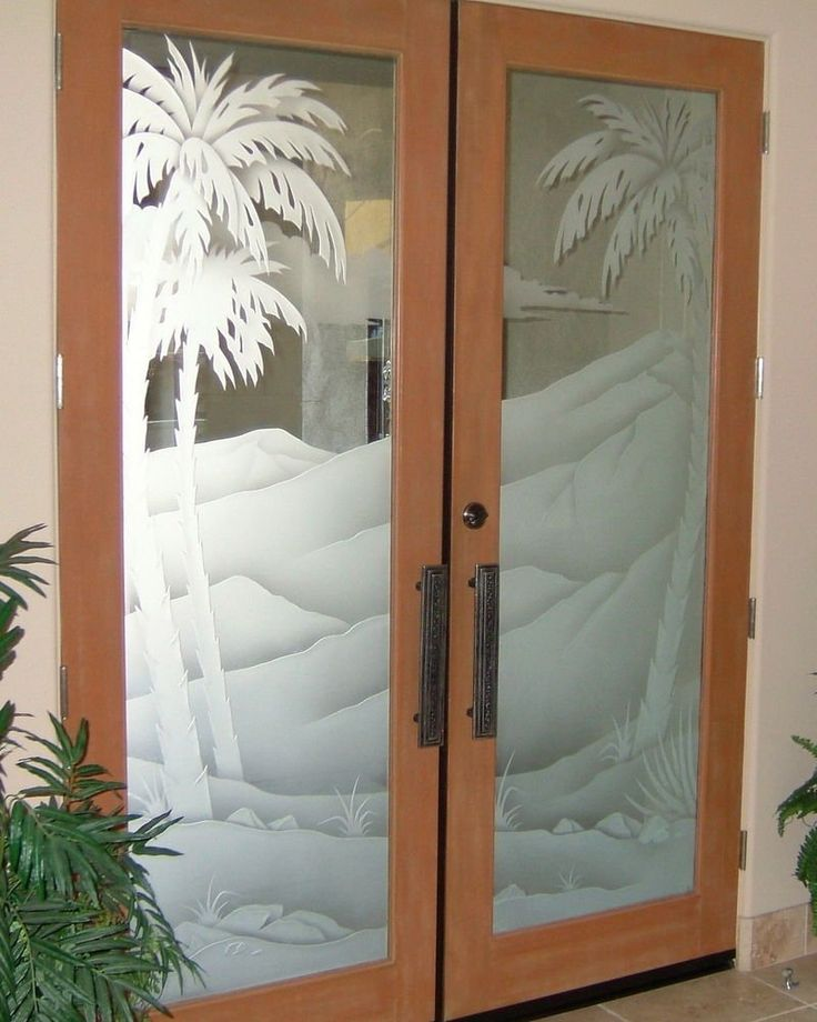 #HomeOwnerBuff Frosted Glass Doors