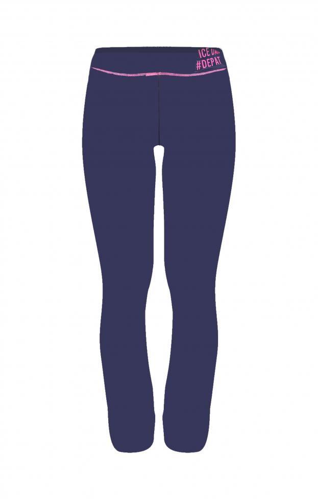 Γυναικείο παντελόνι φόρμας FORM-0983 | Φόρμες > Sport & Αθλητικά Μπλε σκούρο