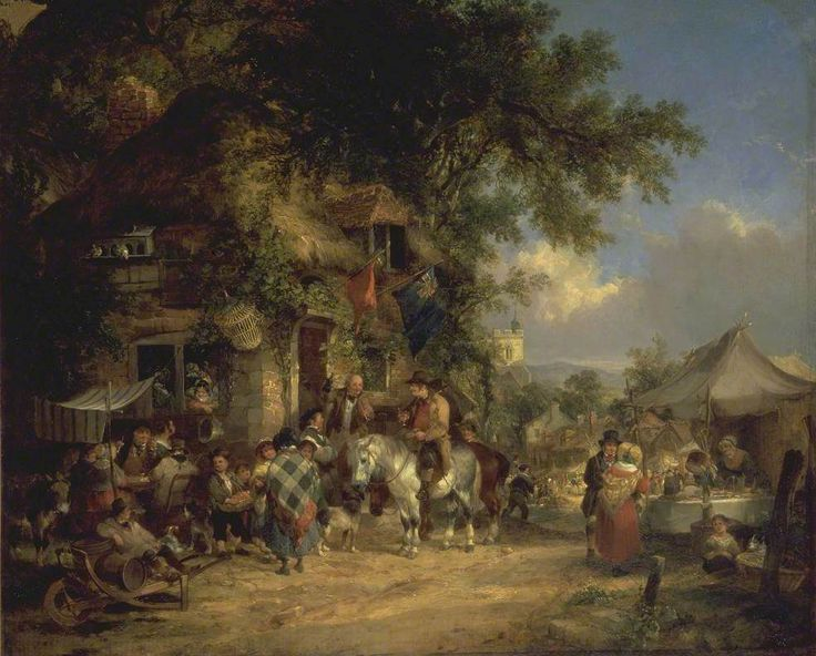 A Village Festival  William Shayer (1787–1879)  Tate