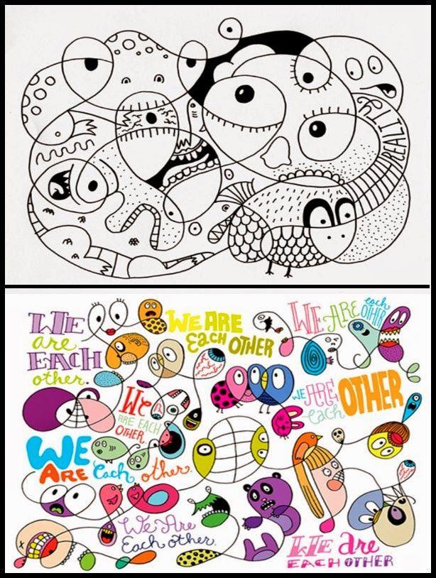 Un tremendous génial graphiste: Chris Piascik!   Toutes ces œuvres et les prochaine…