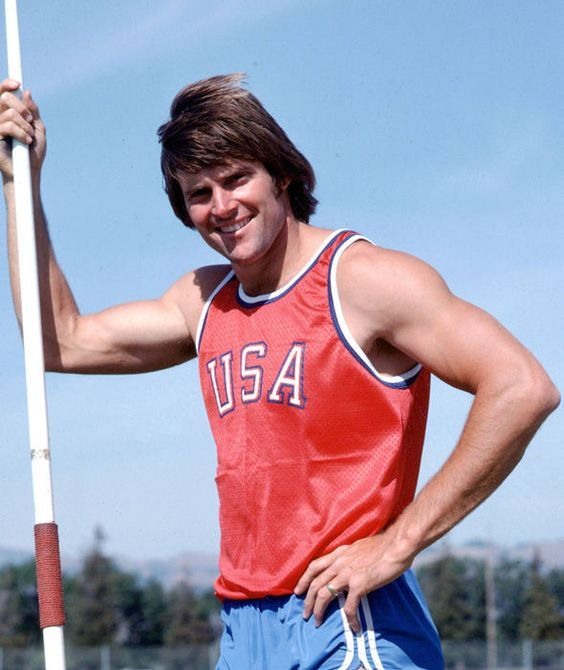 Bruce Jenner during the 1976 Summer Olympics in Montreal, Canada