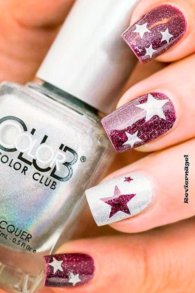Best 25+ Star nail designs ideas on Pinterest | Nail blog ...